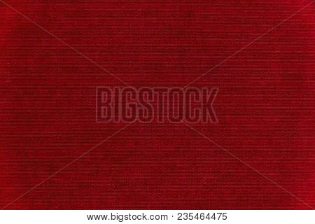 Red velvet texture background. Red velvet fabric stock photo