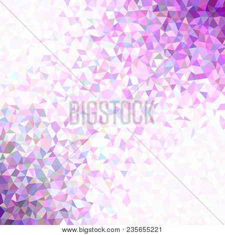 Gradient retro low poly triangle background with opacity effect stock photo