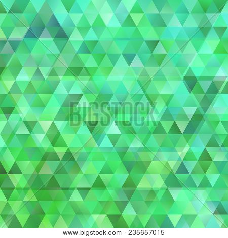 Geometrical abstract polygonal triangle background with opacity effect stock photo