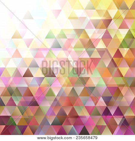 Geometrical retro triangular background with opacity effect stock photo