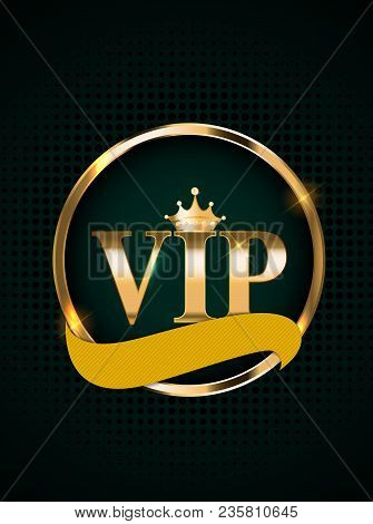 Abstract Luxury VIP Members Only Invitation Background Vector Illustration EPS10 stock photo