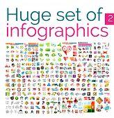 Huge uber set of infographic formats, set 2