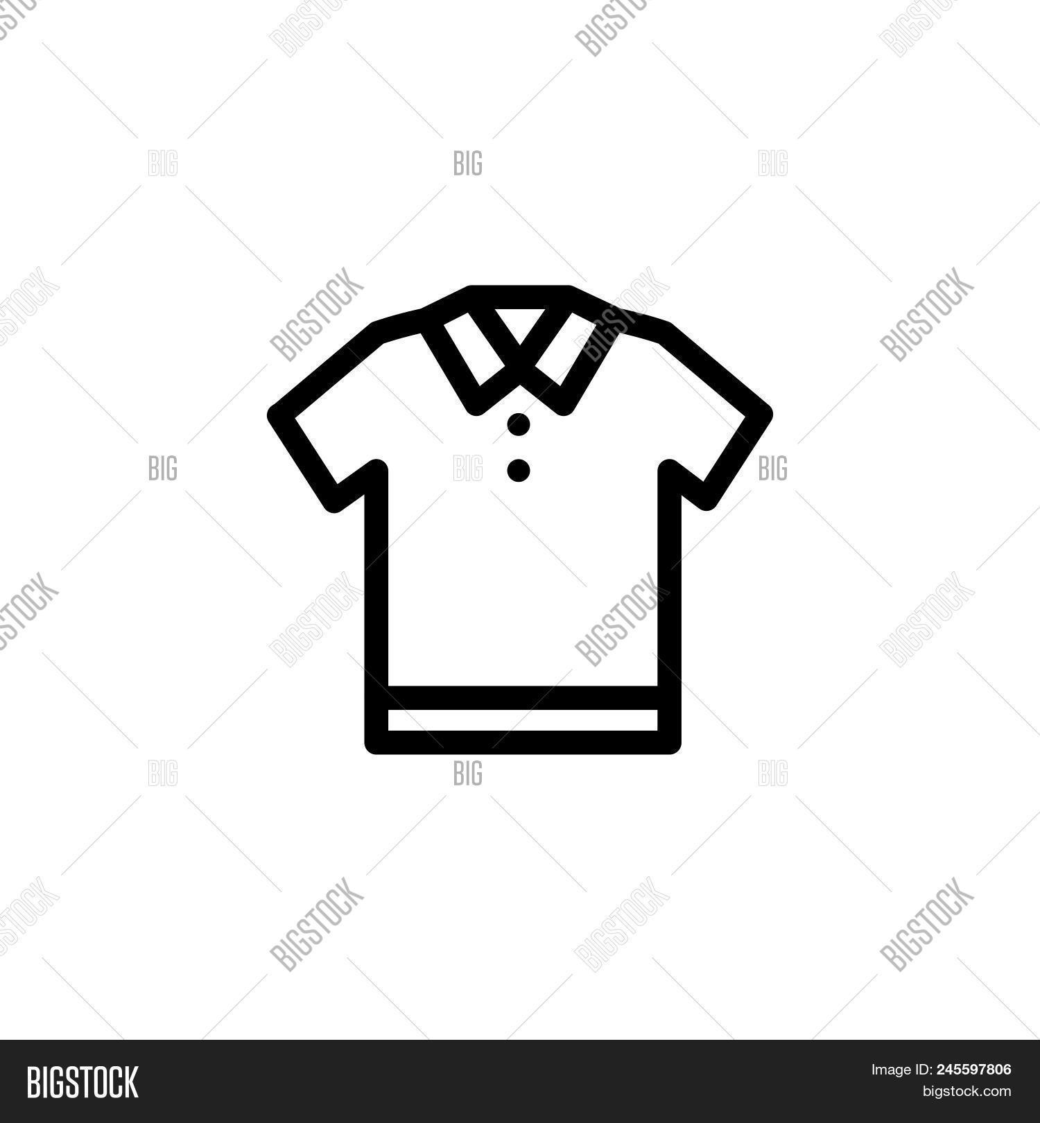 Polo Shirt Template Free Vector