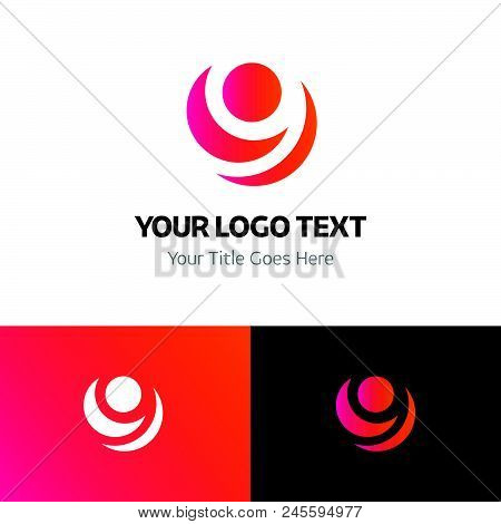 9 logo template vector icon on white background. 9 logo template modern icon for graphic and web design. 9 logo template icon sign for logo, website, app, ui. 9 logo template flat vector icon illustration, EPS10 stock photo
