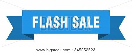flash sale ribbon. flash sale isolated sign. flash sale banner stock photo