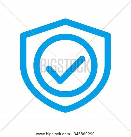 secure icon isolated on white background from security collection. secure icon trendy and modern secure symbol for logo, web, app, UI. secure icon simple sign. secure icon flat vector illustration for graphic and web design.EPS 10 stock photo