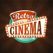 Retro silver screen