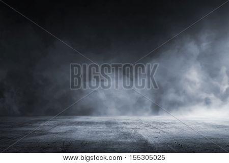 Texture Dark Concrete Floor