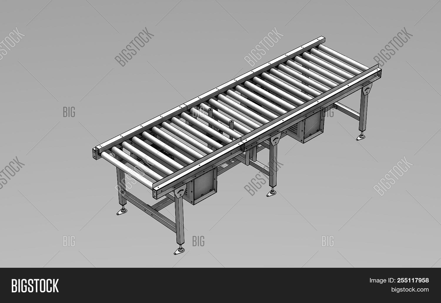 3d,automated,background,belt,black,business,cargo,container,conveyor,deliver,distribution,empty,equipment,factory,freight,illustration,industrial,industry,isometric,line,logistics,machine,machinery,manufacture,merchandise,metal,moving,order,package,packing,parcel,plant,post,product,production,render,rendering,roller,rubber,shipping,shopping,stopper,storage,technology,transport,transportation,warehouse,white