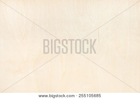 blank wooden background from natural birch plywood stock photo