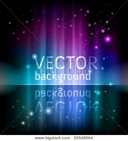 vector shiny background