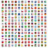 banners of the world - adjusted rectangles symbols with nitty gritty seals and authority hues