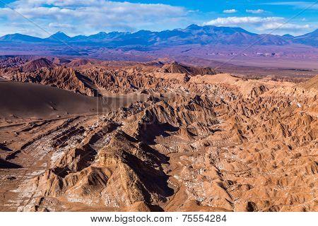 Death Valley in Atacama Desert, Chile - South America (Valle de la Muerte)