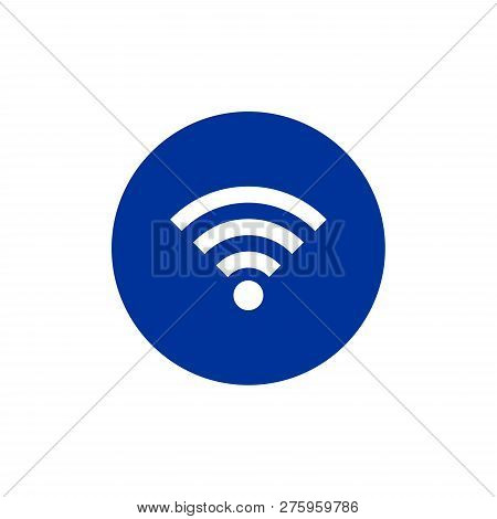 Wifi Signal Icon Isolated on white background. Wifi signal icon in trendy design style. Wifi Signal Vector Icon Modern and Simple Flat Symbol for Web Site, Mobile, Logo, App, UI. Wifi signal icon vector illustration, EPS10. Wifi Vector Image, Wifi Icon Im stock photo