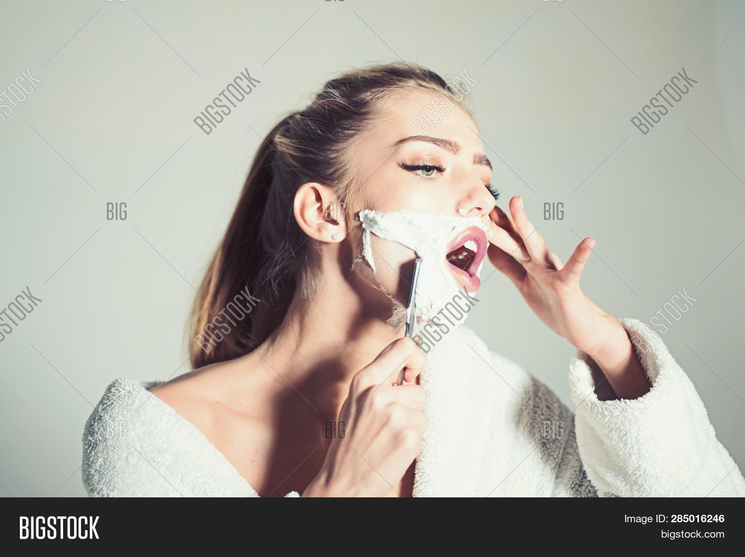 adorable,adult,attractive,background,barber,bathrobe,beautiful,beauty,blade,busy,concentrated,concept,covered,cute,danger,dangerous,face,foam,girl,gorgeous,grey,hair,hairdresser,hand,hold,industry,lady,lip,long,makeup,metallic,metallized,play,pretty,razor,salon,sensual,sexi,sexy,shampoo,sharp,shave,smooth,steel,straight,wear,woman,young