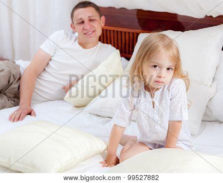 Scene of a social problem. Pedophilia stock photo
