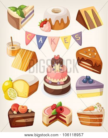 Cakes and Pies