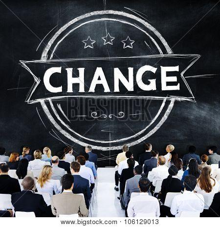 Change Development Improvement Revolution New Concept