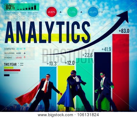 Analytics Analysis Data Statistics Technology Information Concept