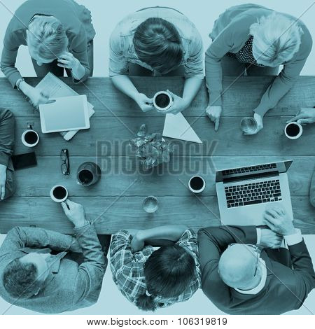 Diverse People and Social Networking Concept