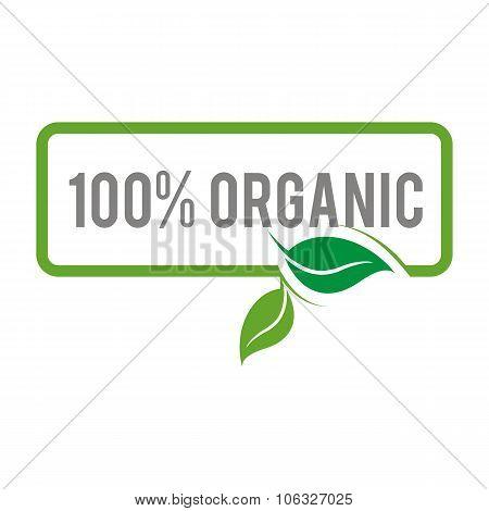 100%organic