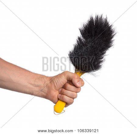Hand Brush Isolated