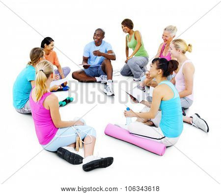 People Exercise Activity Healthy Workout Concept