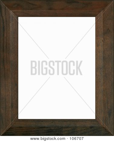 Brown Wooden Frame photo stock