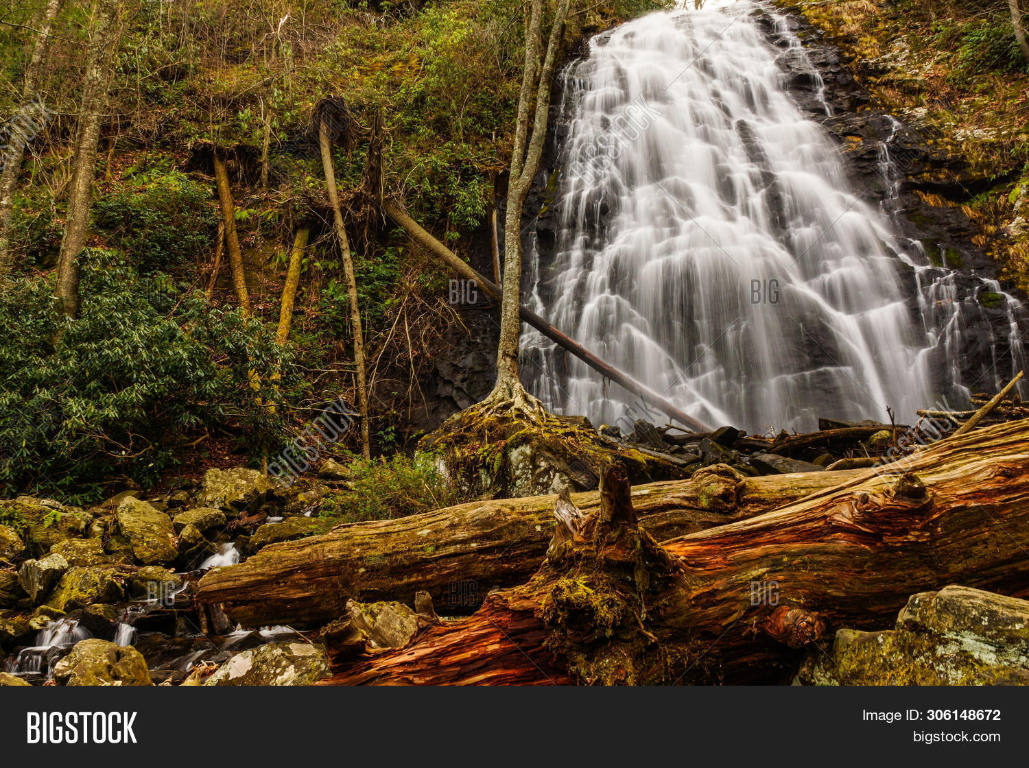 America,Blue,Carolina,Interior,North,Parkway,Ridge,States,United,horizontal,lands,natural,nature,outdoors,outside,park,public,scenic,tourism,usa,vacation,waterfall