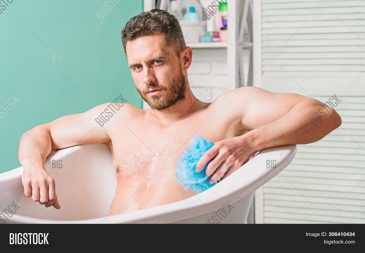 adult,athletic,bathing,bathroom,bathtub,benefit,body,care,caucasian,clean,cleaning,concept,confident,enjoy,enjoyment,handsome,hygiene,hygienic,lotion,macho,man,masculine,muscular,naked,nervous,parts,peeling,personal,pleasure,procedure,relaxation,relaxing,sexy,sit,skin,system,take,torso,total