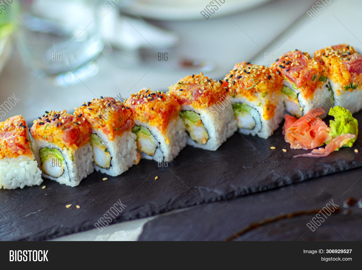 asia,asian,avocado,beautiful,cafe,california rolls,chopsticks,closeup,cuisine,culture,delicacy,delicious,diet,dinner,dish,eat,fish,food,fresh,ginger,gourmet,healthy,japanese,lunch,meal,menu,no people,oriental,raw,restaurant,rice,roll,salmon,sauce,seafood,seaweed,serving,soy,soya sauce,sushi bar,sushi menu,sushi plate,sushi restaurant,table,tasty,traditional,wasabi