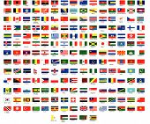 Vector Flags of all nations