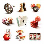 Game symbols set