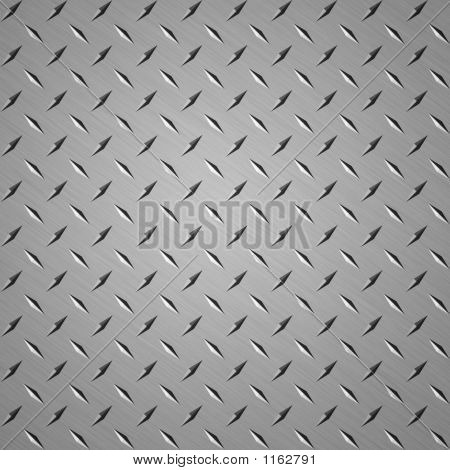 diamond plate steel background good for webpage stock photo