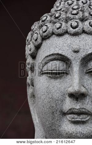 Buddha Statue-Mini Fridge Magnet Skin (size 20x31)