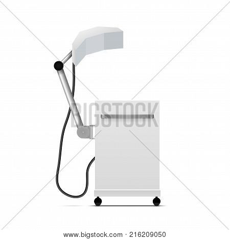 Ultra High Frequency UHF Medical Therapy Unit. EPS10 Vector stock photo