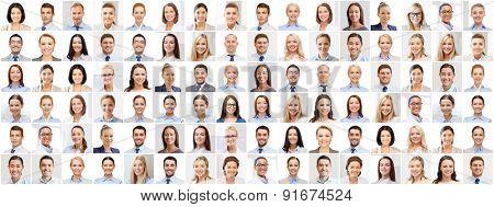achievement idea - composition with numerous specialists pictures
