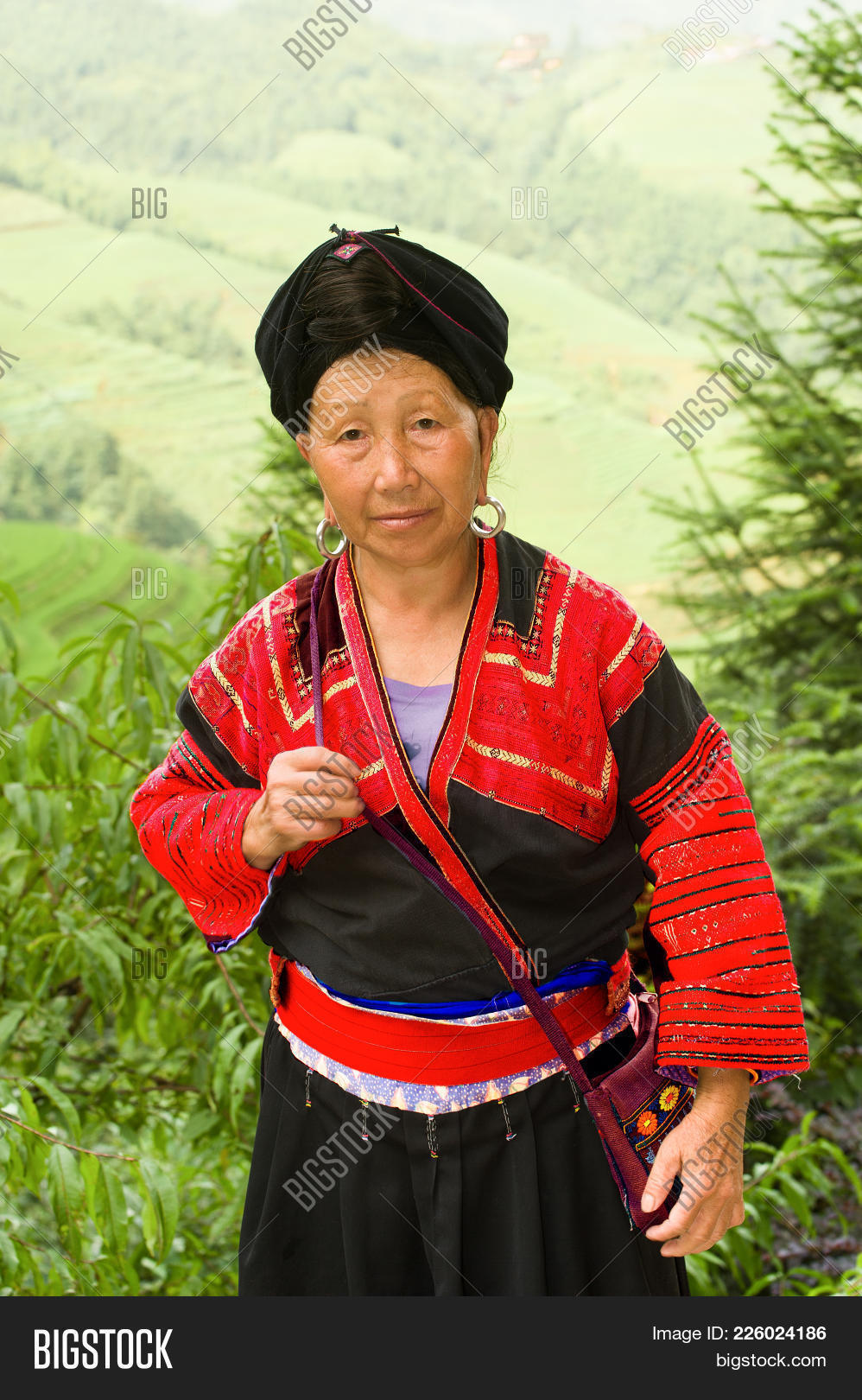 The Head Of The Family Yao Tzu Nationality Hereditary Rice