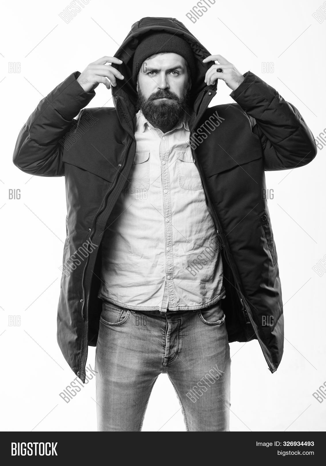 adult,attractive,background,beard,bearded,black,brutal,casual,caucasian,cloth,clothes,clothing,coat,comfortable,concept,confidence,confident,face,fashion,fashionable,guy,handsome,hat,hipster,isolated,jacket,lifestyle,macho,man,masculine,masculinity,menswear,modern,mustache,outfit,parka,serious,stand,style,stylish,trendy,warm,wear,weather,white,winter