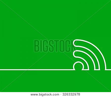 Art composition of line drawing silhouette background. stock photo