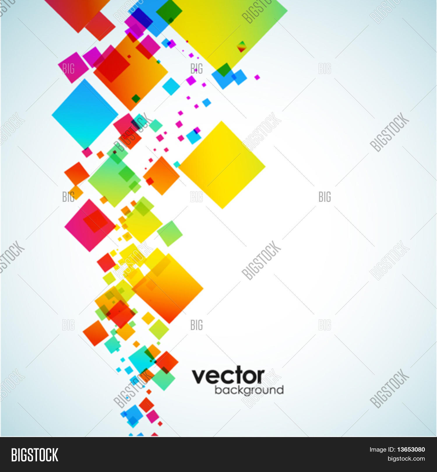 Abstract colorful background. Vector.