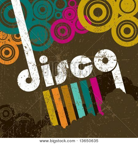 Rétro style disco