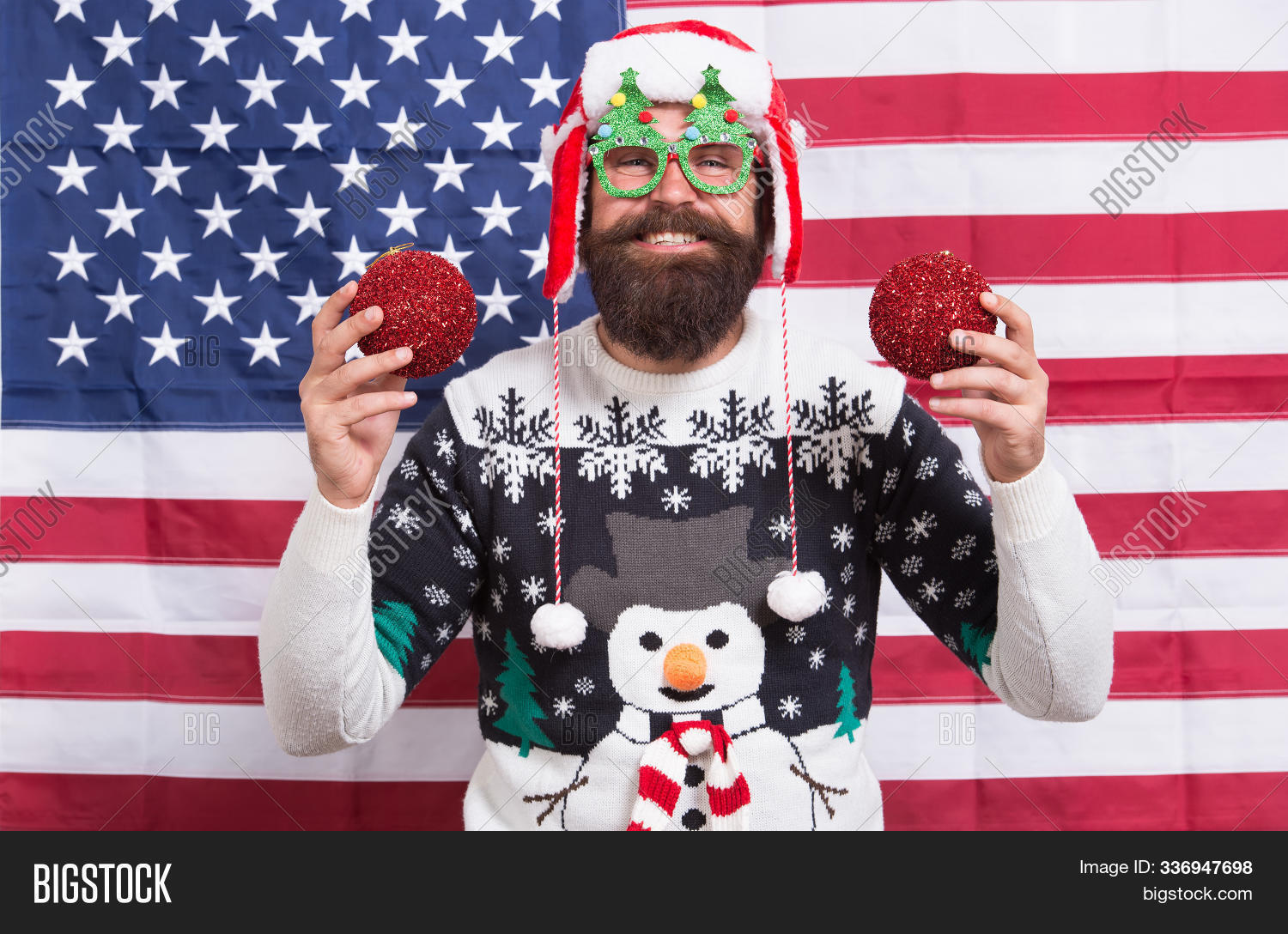 2020,accessory,all,america,american,background,balls,bearded,celebrate,celebration,christmas,claus,country,december,decor,eve,flag,from,hipster,holiday,justice,knitted,liberty,man,my,national,new,party,patriotic,patriotism,santa,snowman,states,sweater,tradition,traditional,united,usa,wear,winter,xmas,year