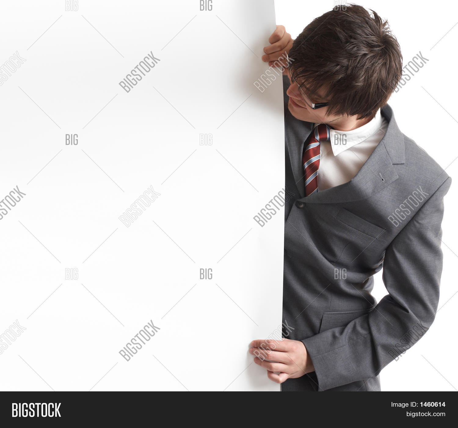 ad,advert,advertise,advertising,banner,card,cardboard,carton,copyspace,diversity,formal,fun,guy,handsome,happiness,happy,head,hold,isolated,joy,male,man,men,people,portrait,promote,promotion,smile,standing,tie,top,tuxido,wear,write,young