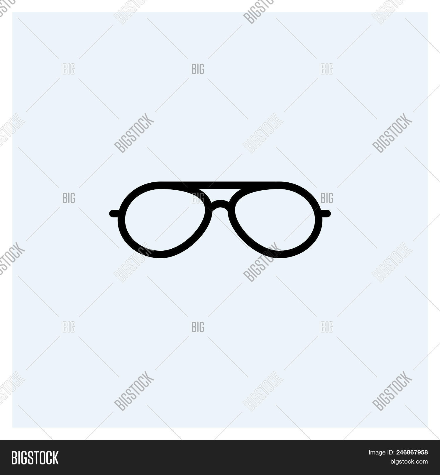 Sunglasses icon vector icon on white background. Sunglasses icon modern icon for graphic and web design. Sunglasses icon icon sign for logo, website, app, ui. Sunglasses icon flat vector icon illustration, EPS10