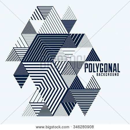 Abstract Modern Vector minimal template Flyer. Vector geometric pattern abstract background. Design template for booklet, greeting card, invitation and advertising. A4 print format. stock photo