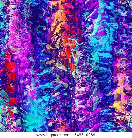 Vibrant vivid digital filter camouflage jpg swatch stock photo