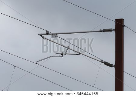 Overhead Live Electric Railway Train Power Supply