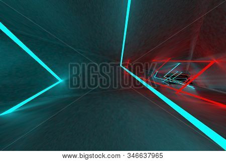 3d rendering of backgrounds abstract. 3d illustration of simple Geometric stock photo