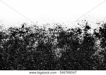 A composition with  beautiful silver glitter. Background and texture of silver glitter. Luxury silver glitter sparkle shining texture background stock photo